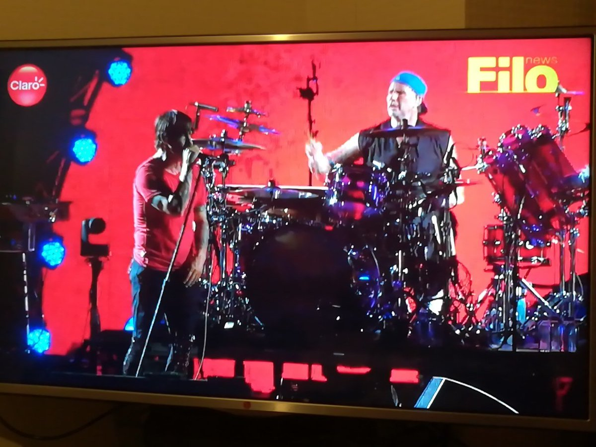 #LollaARFiloNews #RedHotChiliPeppers wee...