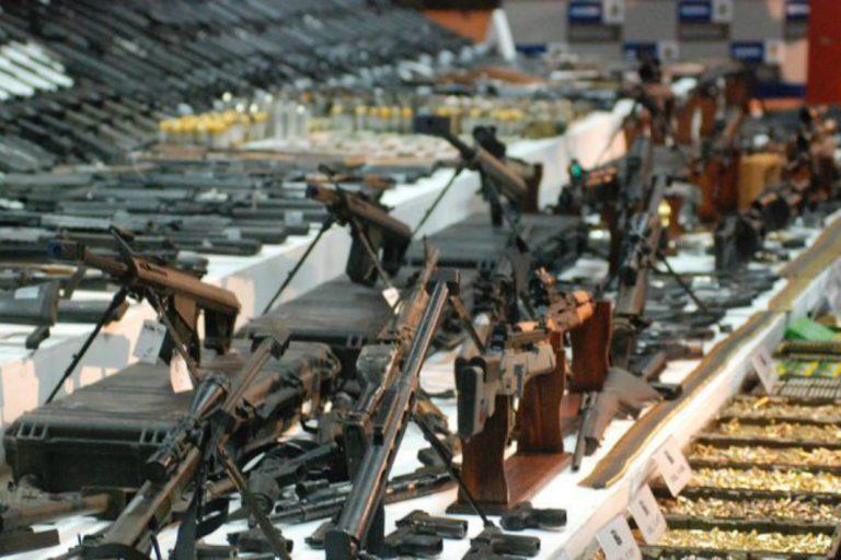 Fuerzas Armadas destruyen mil 900 armas...