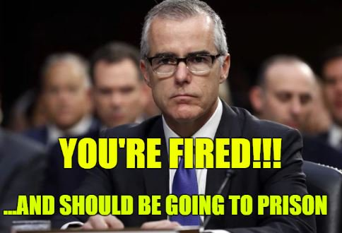 Jeff Sessions fires Andrew McCabe 💥