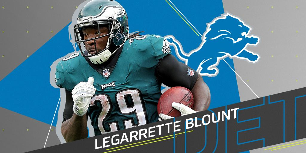 .@Lions sign RB LeGarrette Blount (@LG_Blount) to one-year, $4.5M deal: on.nfl.com/glPV7M