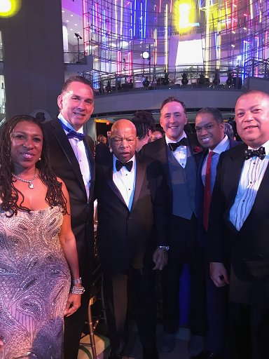 Chief Newsham was in attendance as the Greater Washington Urban League honored Congressman John Lewis and got to meet the scholarship winners.