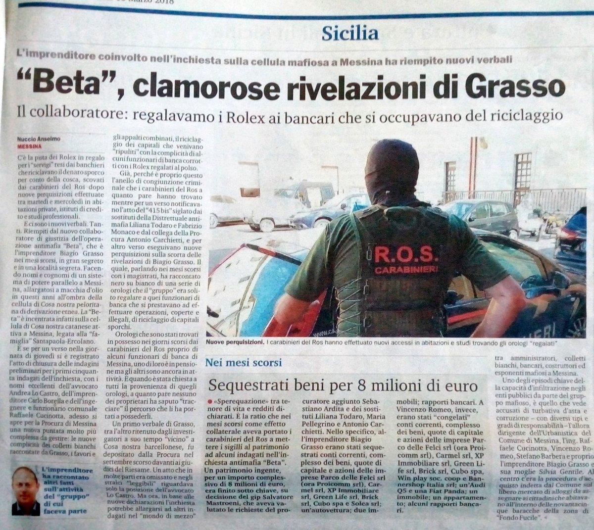 Imprenditoria mafiosa#messina #sicily #mafia #Messina #affari #riciclaggio #denaro #edilizia@NicolaGratteri @BindiRosy @GazzettaDelSud  - Ukustom