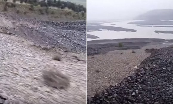 【RT100UP】 見よ!岩が液体のようだ。ニュージーランドで発生した石の川「粒状流」 https://t.co/GotZdBmq0J