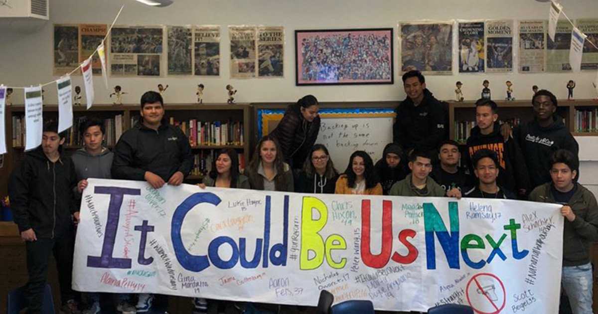 These high school kids were all set to protest gun violence—and then this nightmare happened https://t.co/nNsKPvqM6m