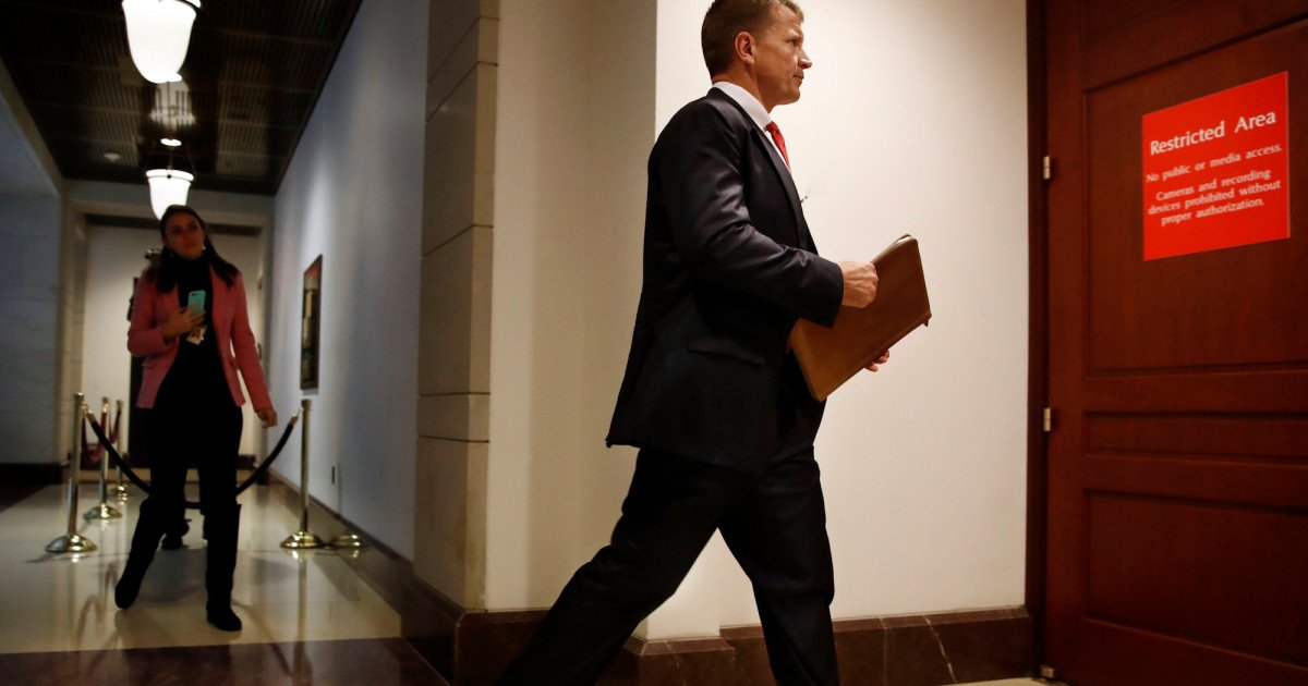 Democrats may seek prosecution of witnesses who misled House Intelligence Committee https://t.co/NaGwTNtv6h