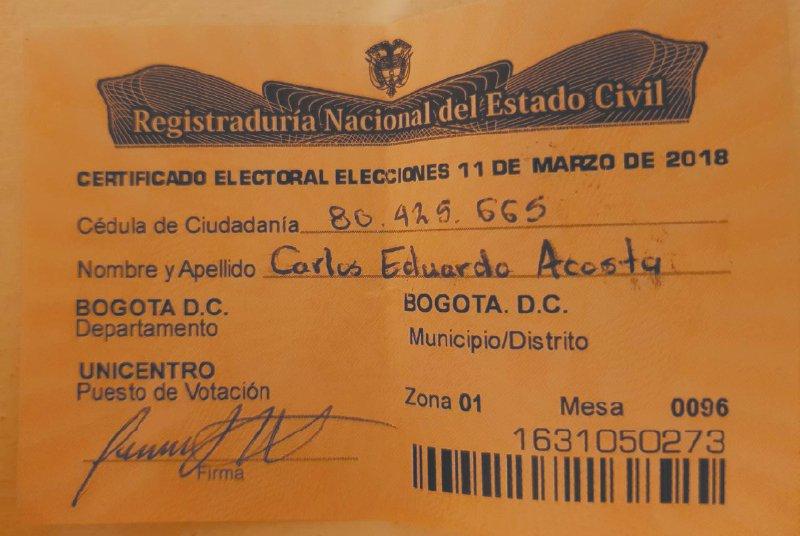 Los votos que no le aparecen a Colombia...