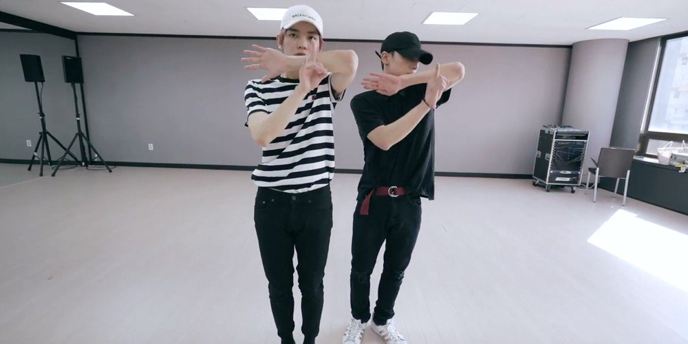 NCT's Taeyong & Ten say 'Baby Don't Stop' in new dance practice clip  https://t.co/BnxYNQgpQH