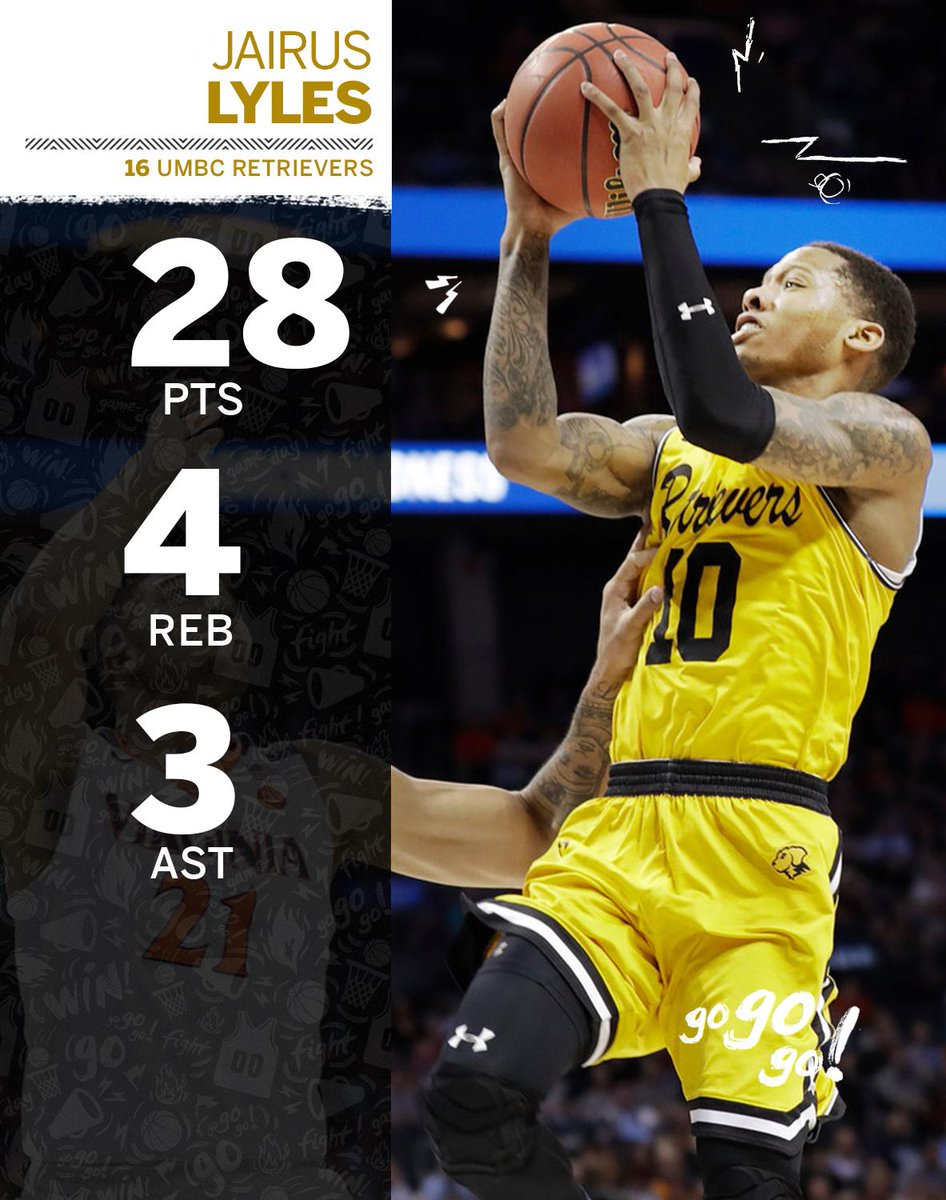 In the biggest upset in men's NCAA tournament history, Jairus Lyles was the hero.