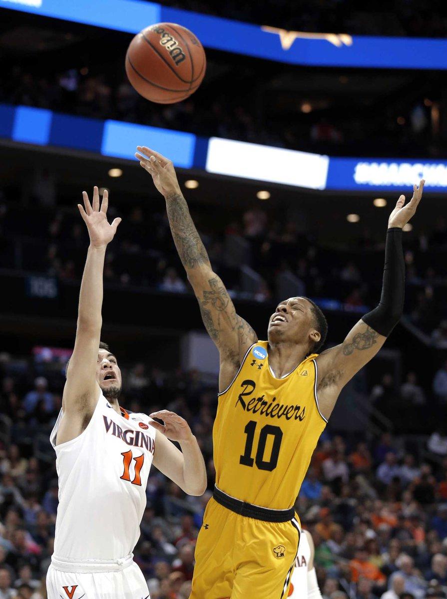 No. 16 UMBC routs No. 1 Virginia to make NCAA history https://t.co/patHInMHv5
