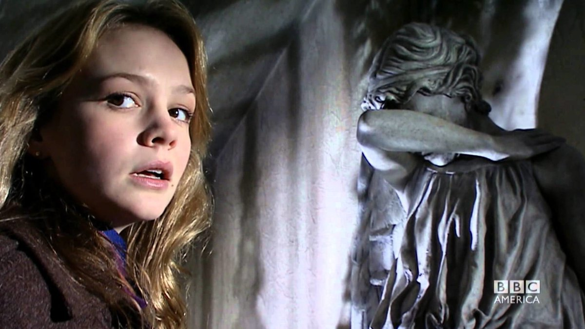 Continuing to move around in time.. Headed back to #DoctorWho Season 3 to watch Hettie Macdonalds Blink. Yes, thats Carey Mulligan starring...   #DirectedbyWomen #AmazonPrime