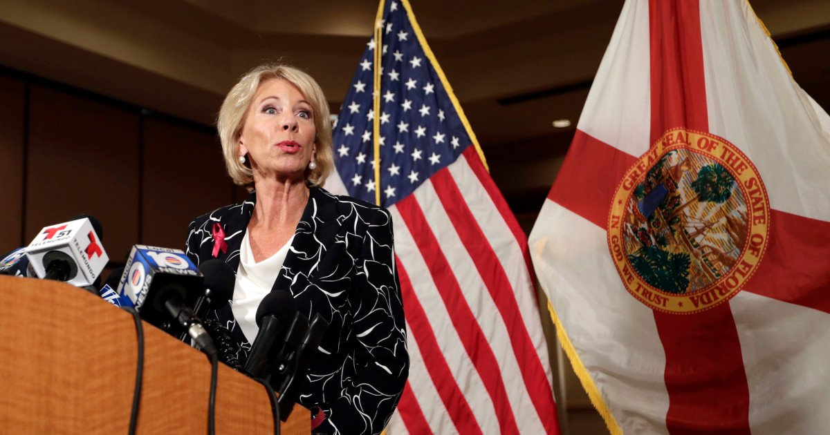 Betsy DeVos wants to eliminate the very programs she thinks will help stop school violence https://t.co/3Tj7uU9PN1