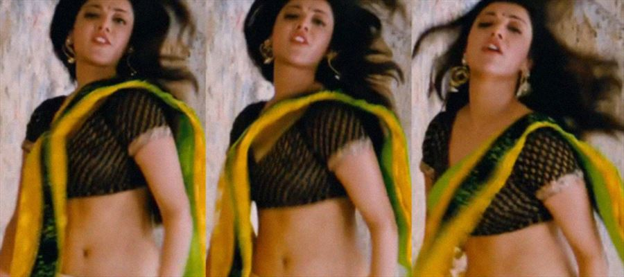 7 Times when Kajal Aggarwal exposed her cuves while Dancing on Swing