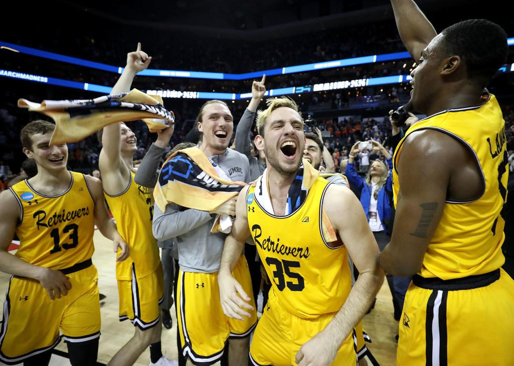 Less than two months ago, UMBC lost to Albany 83-39.  Tonight, it pulled the biggest upset in college basketball history.  This is why we love March.