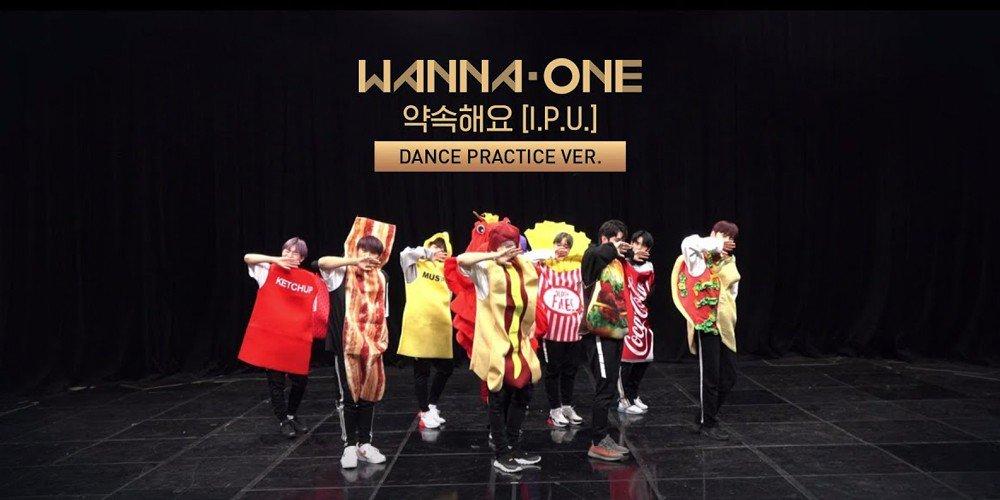 Wanna One reveal a hilarious dance practice clip of 'I.P.U' for the MV surpassing 3,333,333 views https://t.co/rMIyyshiqi