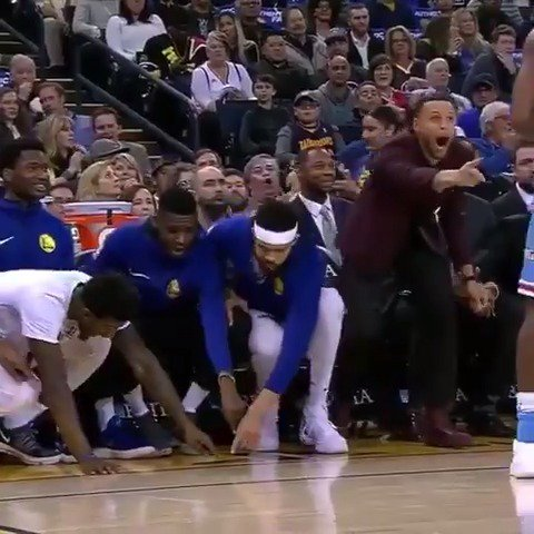 Steph is too much... �� https://t.co/B53tyvCiUz