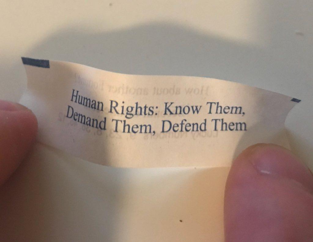 Fortune cookies not fucking around in 2018
