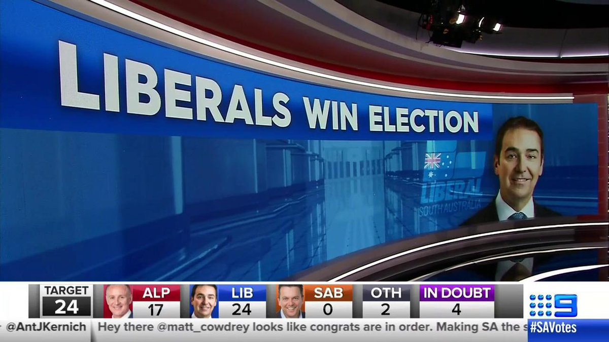 #BREAKING: #9News projects the Liberal P...