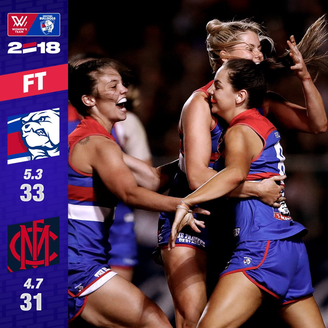 WE'RE OFF TO THE BIG DANCE! #AFLWDogsDee...