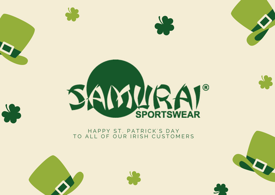 test Twitter Media - Happy St Patrick's Day from all at Samurai Sportswear! Feeling Lucky? Keep your eyes peeled for an exciting competition later today! 👀 🍀  #StPatricksDay #Lucky https://t.co/QTcnuVetBj