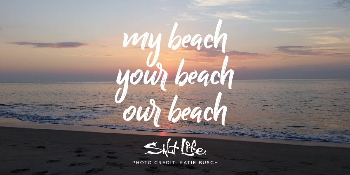 My beach Your beach Our beach  #SaltLife...