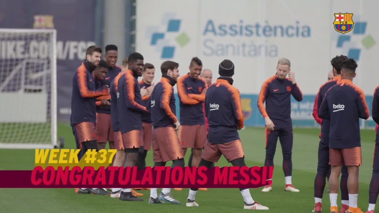 What was your favourite moment of the last 7️⃣ days at Barça? ���� https://t.co/7gzQWWrM3B