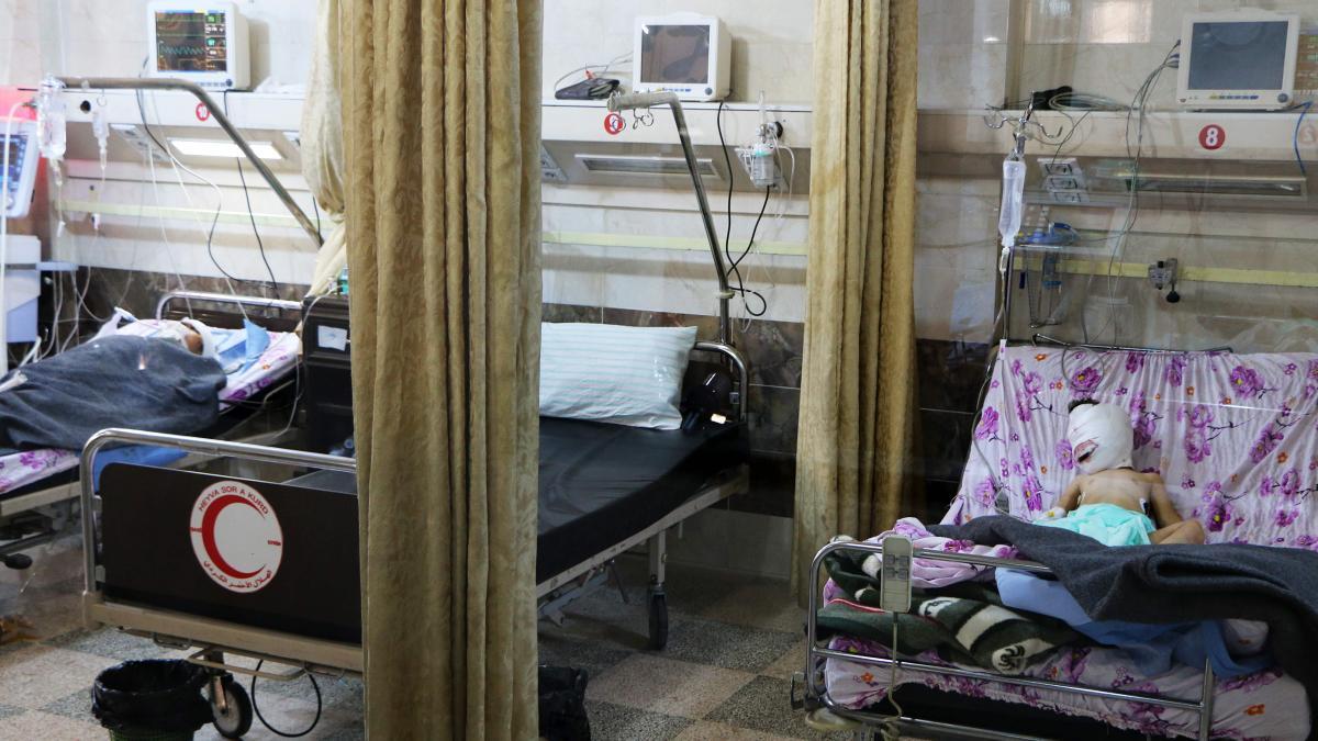 Türkische Luftwaffe beschießt offenbar Krankenhaus in Afrin https://t.co/5DxA2EWL1c