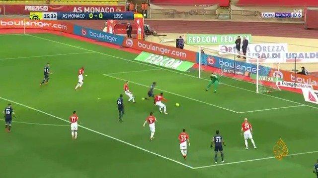 #موناكو يعزز موقعه ثانيا بالدوري الفرنسي...