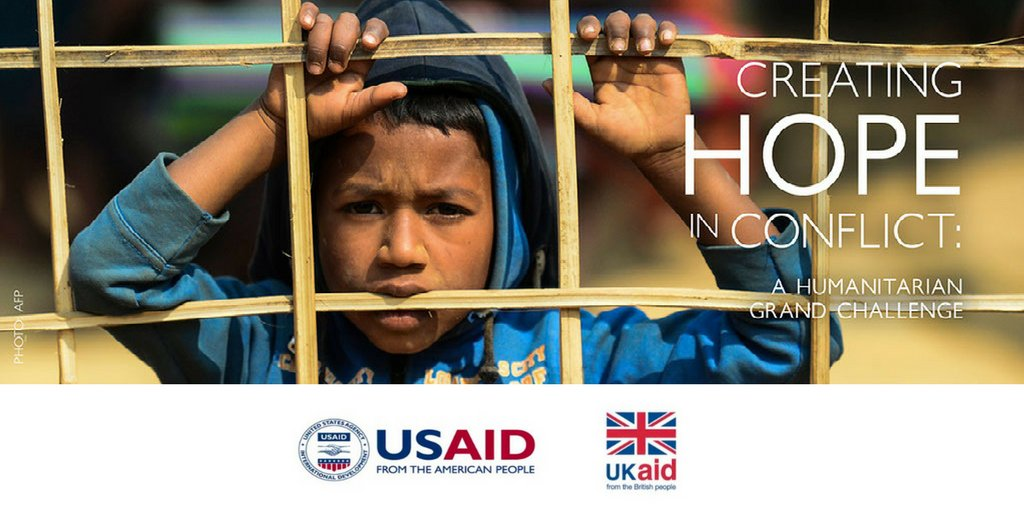 Your #idea could help us reach people who are unreachable by traditional #humanitarian aid due to armed conflict. #CreatingHope in Conflict: A  @HumanitarianGC seeks life-saving or life-improving  #innovations. Apply by April 12. https://t.co/KgKps8ztG1 #HumanitarianGC