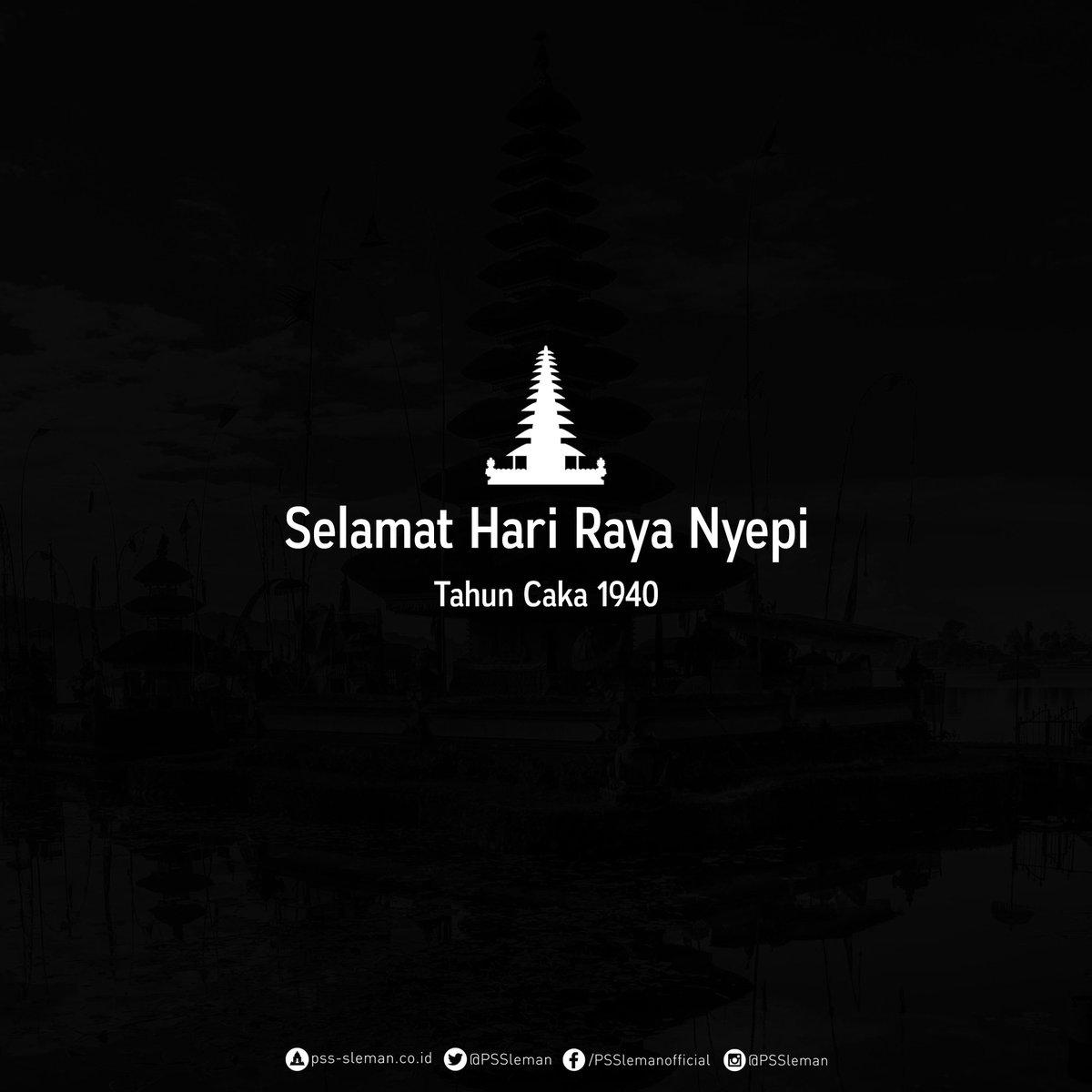 Selamat Hari Raya Nyepi 2018 bagi yang m...