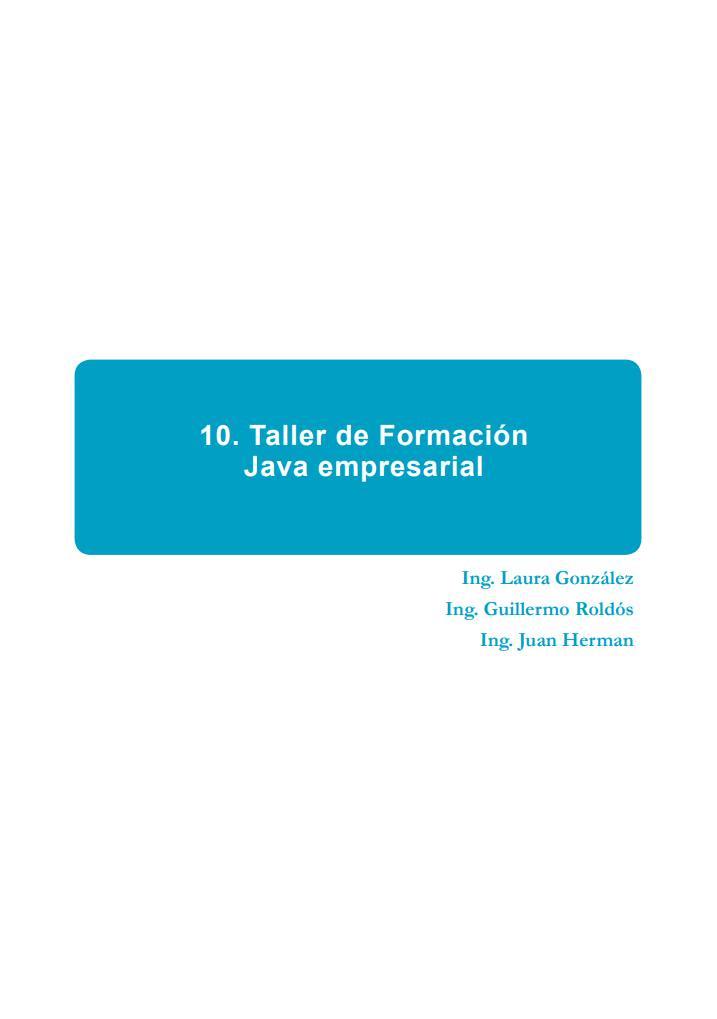#PDF de #Programación - 10. Taller de Fo...