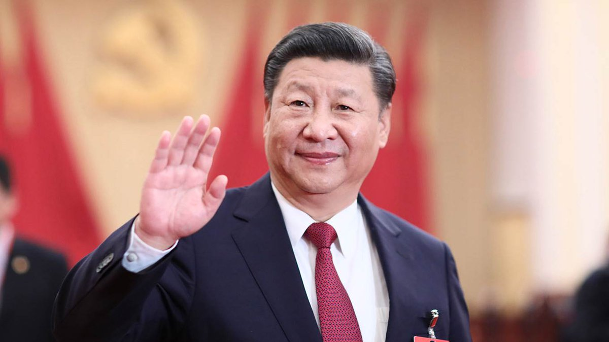 #XiJinping re-elected as the President of #China for a second 5-year tenure