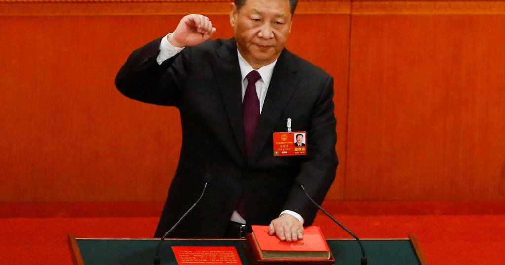 China's Xi Jinping reappointed as president with no term limits https://t.co/yUCLUXuWlz