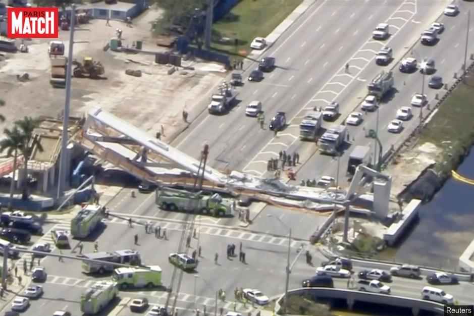 Pont effondré de Miami : un ingénieur avait vu des fissures https://t.co/3pIhdXBJhh