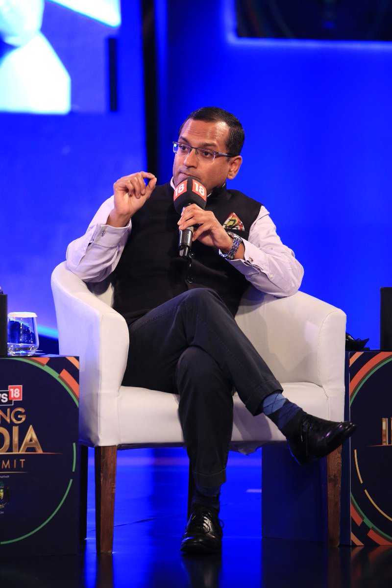 #News18RisingIndia -- Much of that rise relies on the Indian entrepreneur. He or she is an important part of our soft power: @shaurya_doval, Director, India Foundation