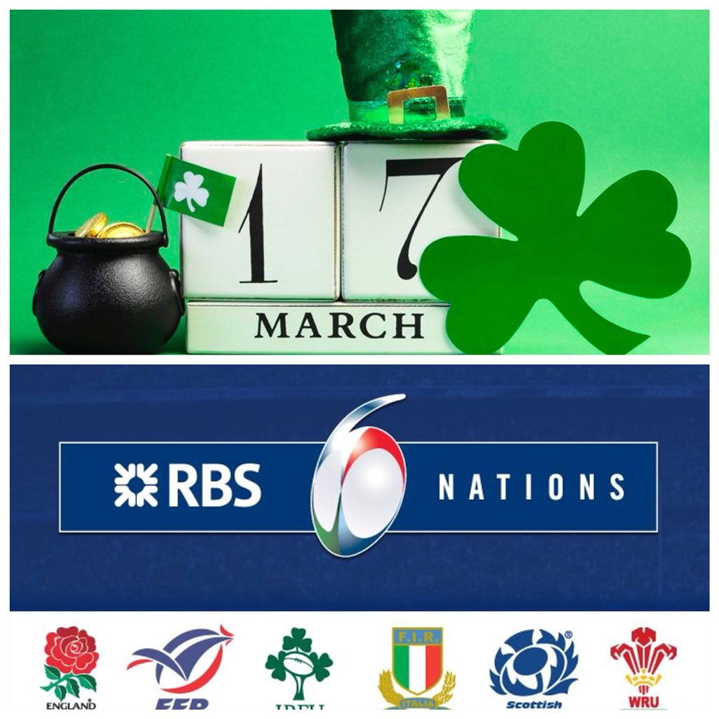 The day is finally here! St Patrick's Day and the final day of the 6 Nations. We'll be showing all the action,  treating you our fantastic brunch and serving up the best pint of Guinness you've ever had! #StPatricksDay #6Nations2018 #Brunch #Guinness #TheWhiteHorseEC2 https://t.co/3wEvn0czT9