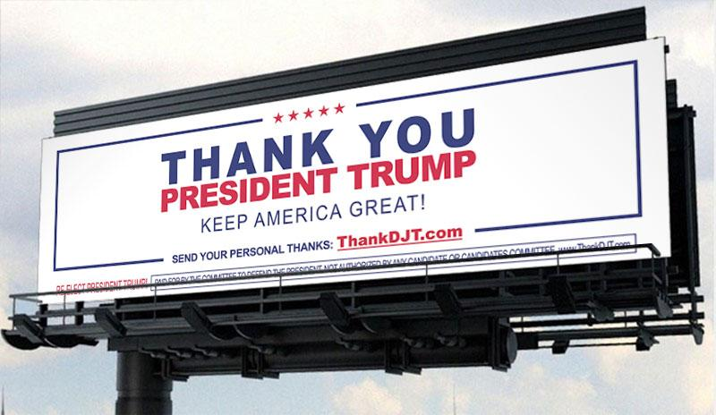 Two billboards outside Mar-a-Lago, Florida: Impeach Trump sign to be met by 'thank you' president message https://t.co/YeyGj2KDch