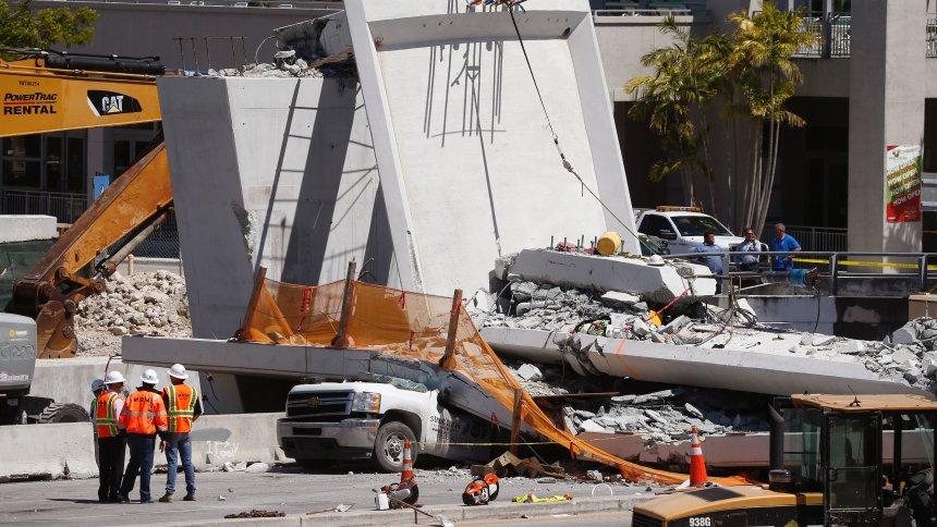 Brückeneinsturz bei Miami: Warnung vor Rissen landete auf Anrufbeantworter https://t.co/uV5EL2OYqB