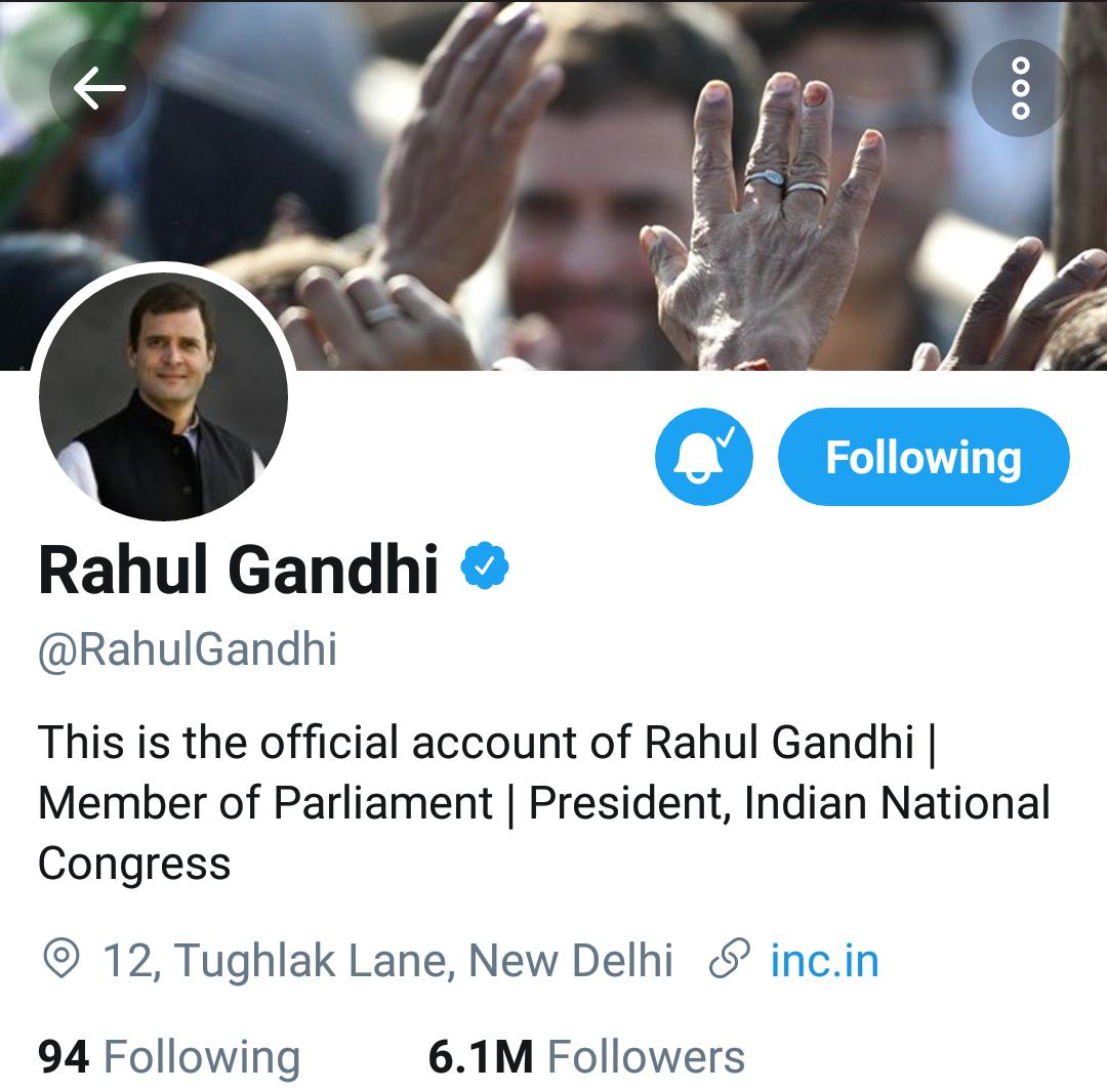 Welcome to @OfficeOfRG in person on !@twitter Thanks for the good work done by the old @OfficeOfRG but it was time to make way for The Man himself!
