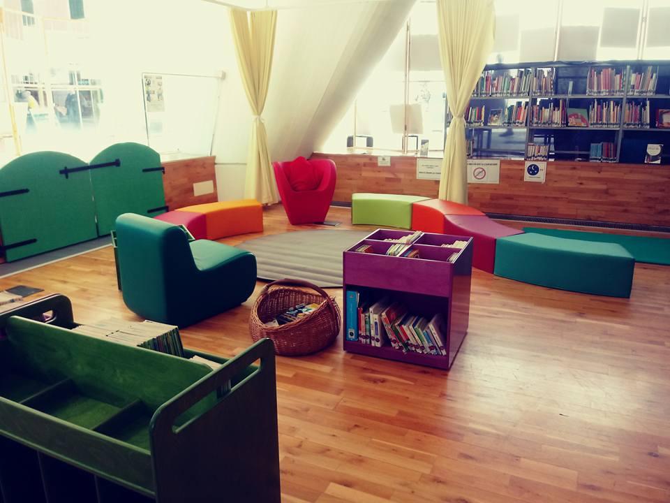#Buongiorno  avete visto quanto è bello lo spazio Nervi dedicato ai bambini e ragazzi?  uno spazio tutto nuovo per #leggere e #ascoltare insieme! #novità #biblioteca #17Marzo #buonsabato  - Ukustom