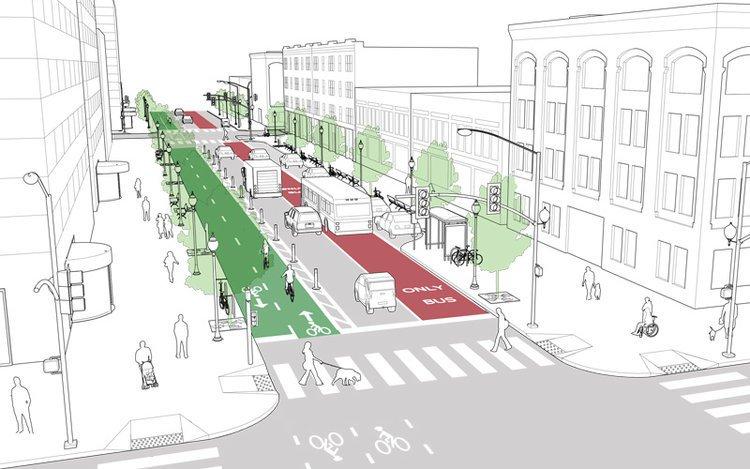 ¿Qué es una CALLE COMPLETA? Una calle diseñada para todos los modos de viaje, edades y habilidades. Privilegiando la movilidad activa (peatones, ciclistas) y el transporte público. Calles para circular, pero también para permanecer en ellas. #movilidadsostenible #PMUSCP