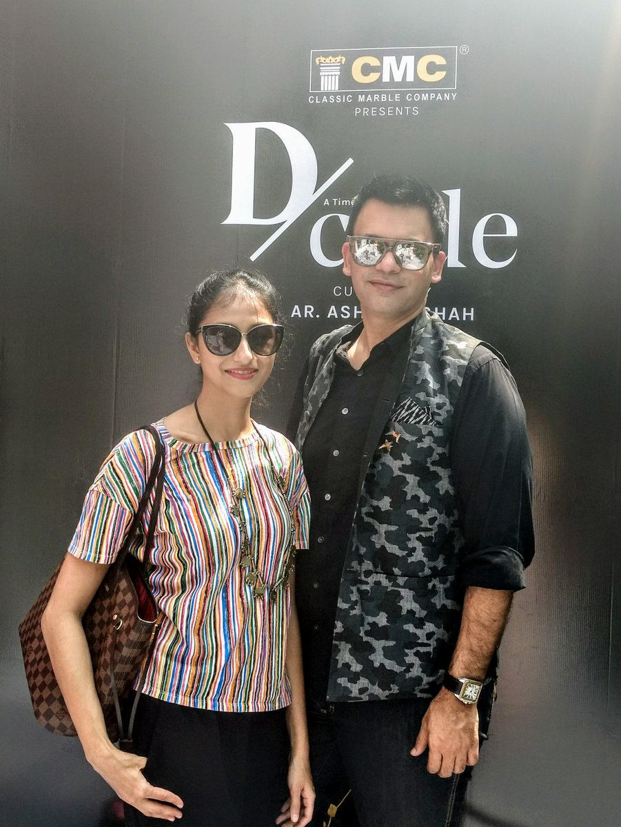 Femina On Twitter Fashion Designer Nachiketbarve With Wife Surabhi Barve At D Code India S First Curated Art Design Fair In Mumbai Trendsdcode Dcode2018 Https T Co 0ejll0d5jy