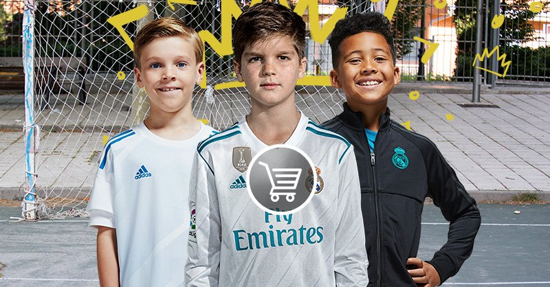 👕👦👧 #RMShop Discover the #RealMadrid collection for kids. Everything for our little fans! 🛒 https://t.co/hVfZjjI2iO