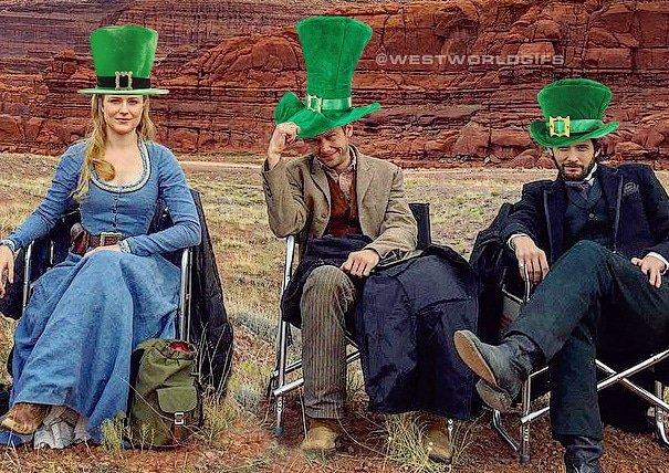 Happy #StPatricksDay #Westworld