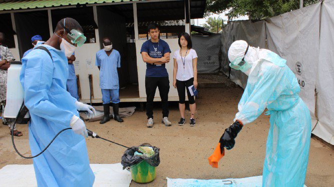What does the color blue reveal about pathogens? Curious? More in this USAID Grand Challenge #innovator blog: https://t.co/29l5dghHUJ #Ebola, #healthcareworkers, #infectiousdisease, #USAIDTransforms @KinnosInc @CIIimpact