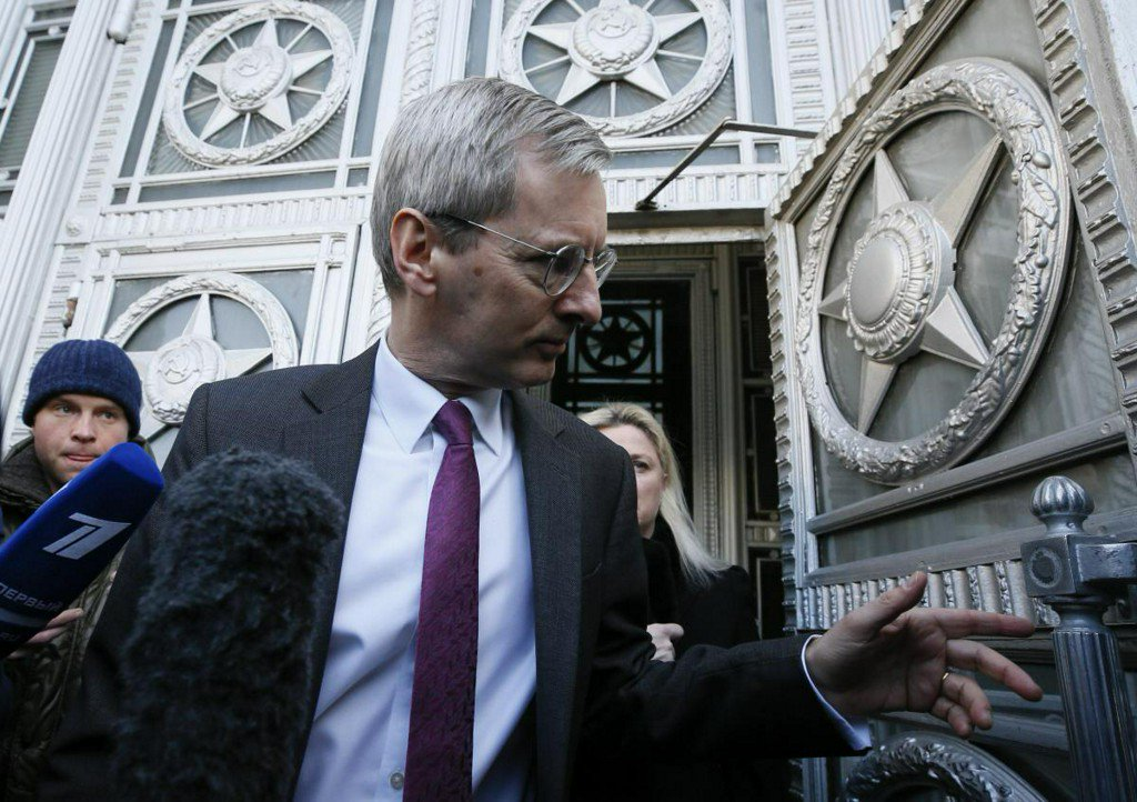 Russia says 23 British diplomats must leave within a week https://t.co/Su1u3oumfB https://t.co/xRUhdhN42E