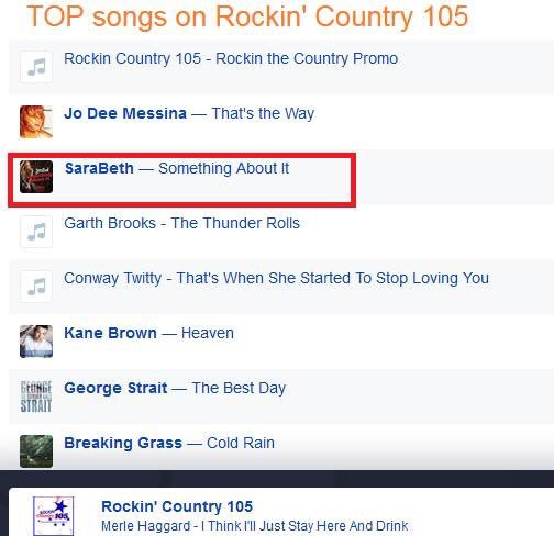 A big thank you to @RockinCtry105! https...