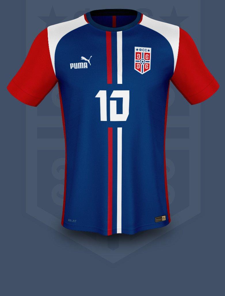 077054efafab Football kits Serbia 2018. puma  serbia  fsspic.twitter.com ilfPxa4uEr