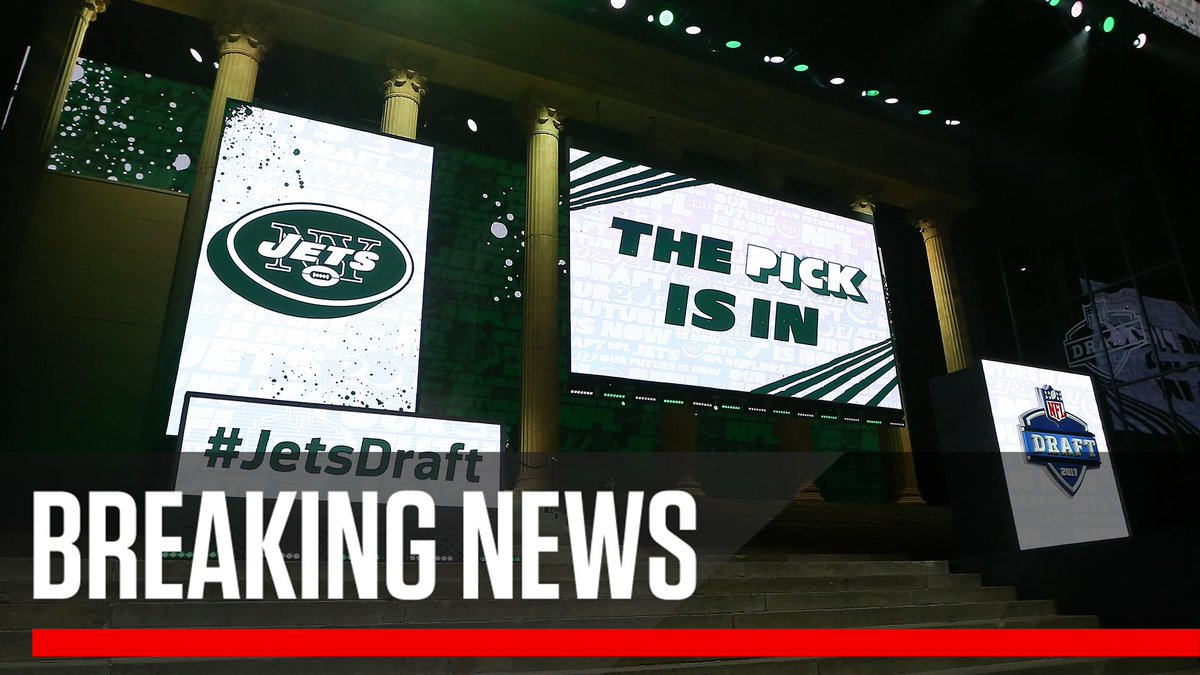 Breaking: The Jets have acquired the No. 3 overall pick in the NFL draft from the Colts, who will receive the No. 6 overall pick, the No. 37 pick, the No. 49 pick and the Jets' 2019 2nd-round pick.