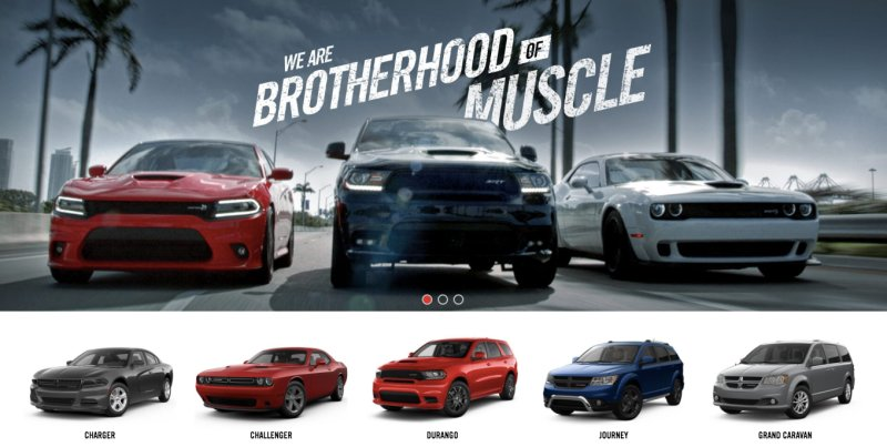 The entire Dodge car lineup is old as hell https://t.co/KNxUBRQQJ7