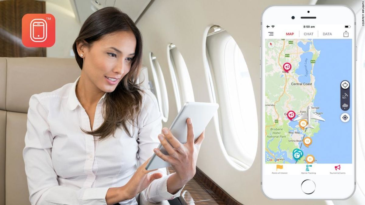 The ultimate app for airplane passengers?  📻 #techradio #travel  cnn.it/2GmErEK